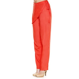 Global Deis Women's Boho Front-wrap Pants (India)
