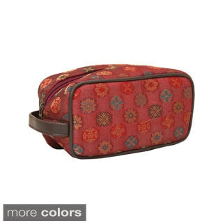 Handmade Brocade Cosmetic Bag (India)