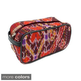 Handmade Poly Silk Cosmetic Bag (India)