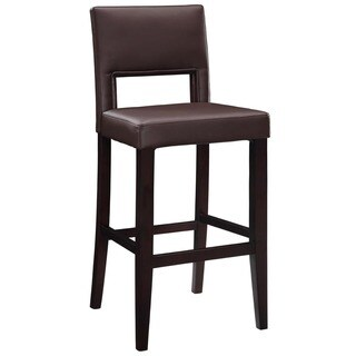 Linon 30-inch Espresso Wood Bar Stool