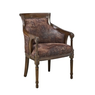 Furniture Of America Antique Oak Accent Chair 12642930