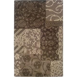 Linon Ashton Brown/ Cream Area Rug (8' x 11')