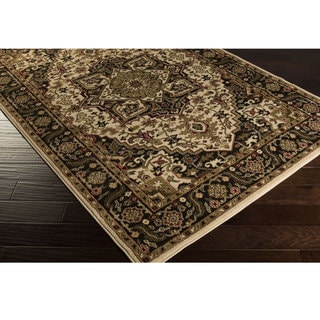 Meticulously Woven Bulloch Traditional Polypropylene Area Rug (4' x 5'5)