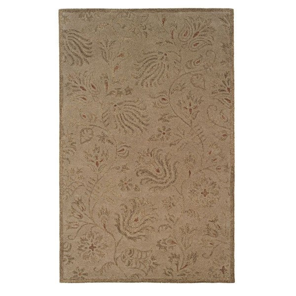 Linon Ashton Gold/ Olive Area Rug (8' x 11')