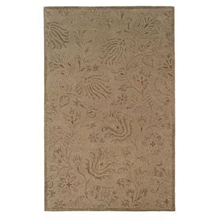 Linon Ashton Gold/ Olive Area Rug (Gold 8 x 11)