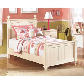 Signature Design by Ashley Cottage Retreat Cream Poster Bed (2 options available)