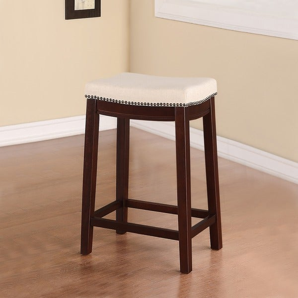 Linon Entice Backless Counter Stool Free Shipping Today