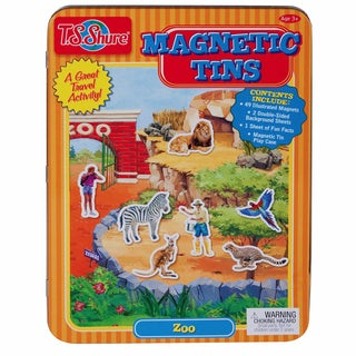 T.S. Shure Zoo Magnetic Tin Playset