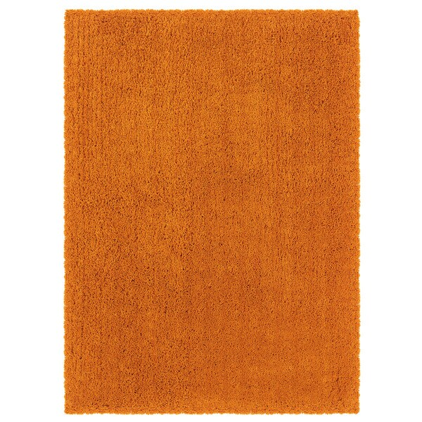 Linon Copenhagen Shag Beeswax Area Rug - 8' x 10'
