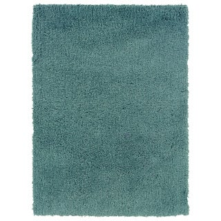 Linon Copenhagen Shag Aquifer Area Rug (5' x 7')