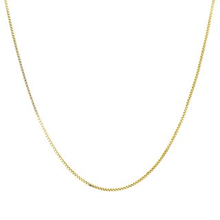 Roberto Martinez 14k Gold Box Chain Necklace (14-inch