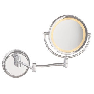 Dain-o-lite Swing Arm Lighted Magnifier Mirror