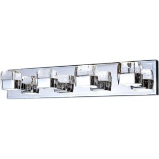 Volt Polished Chrome Eight-light Bath Vanity