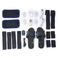 TENS SPT Mini Electronic Pulse Massager Combo Pack - White