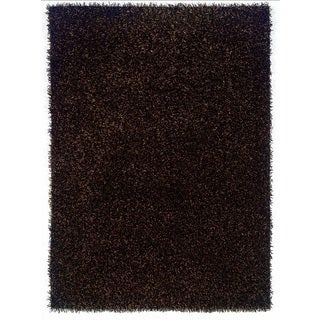 Linon Confetti Brown/ Beige Area Rug (5' x 8')