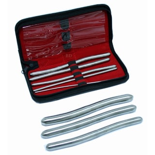 Hegar 8-piece Uterine Dilator Set with Carrying Case