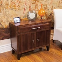 Luna Acacia Wood Storage Chest by Christopher Knight Home