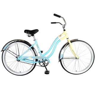 Victory Touring Women's Baby Blue 126L Cruiser Bicycle with 26-inch Wheels and 17-inch Frame