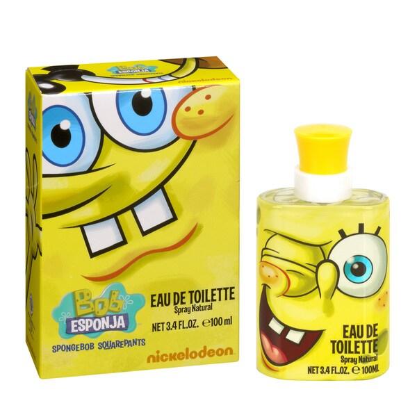 dd21c795f5f Spongebob Squarepants Children's 3.4-ounce Eau de Toilette Spray .