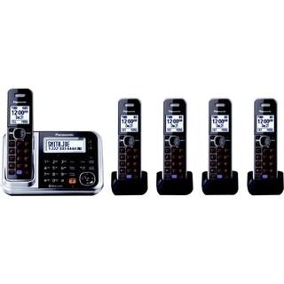 Panasonic Link2Cell KX-TG7875S DECT 6.0 1.90 GHz Cordless Phone - Sil|https://ak1.ostkcdn.com/images/products/9365174/P16556954.jpg?_ostk_perf_=percv&impolicy=medium