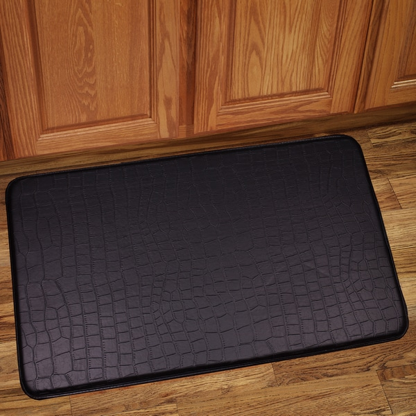 Shop Memory Foam Anti-Fatigue Kitchen Floor Mat - Free Shipping On ...