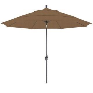 Lauren & Company Premium Sesame 11-foot Aluminum Tilting Umbrella