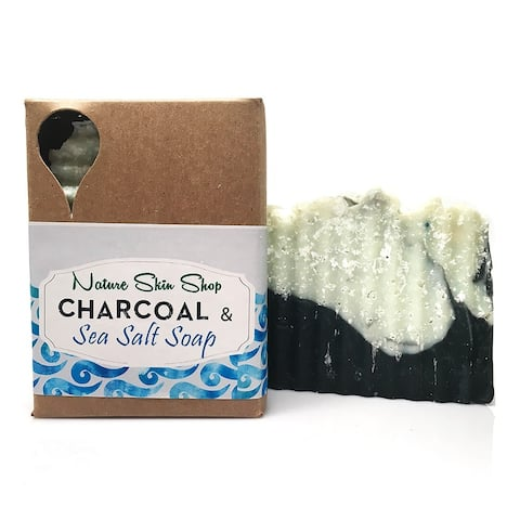 Nature Skin Shop Dead Sea Salt and Activated Charcoal Cold Process Soap