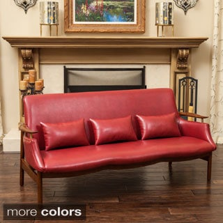 Bridgeport Wood Frame Sofa by Christopher Knight Home