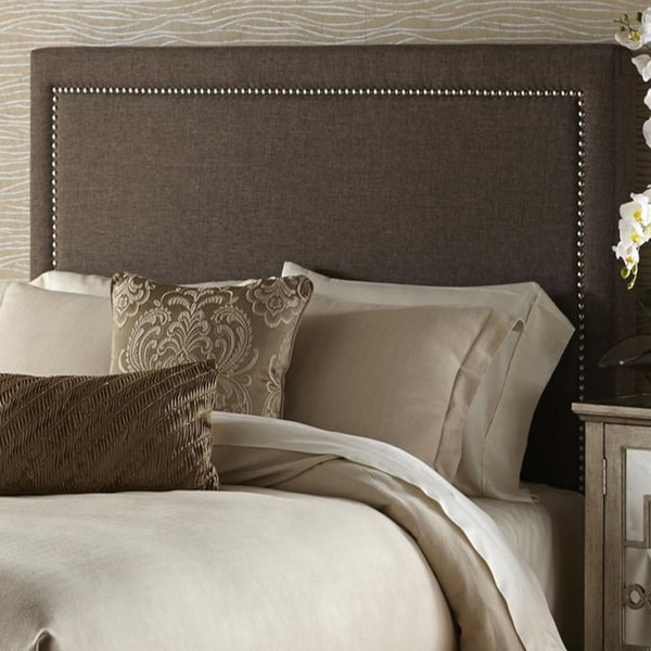 Shop Brown Queen Size Upholstered Headboard Free