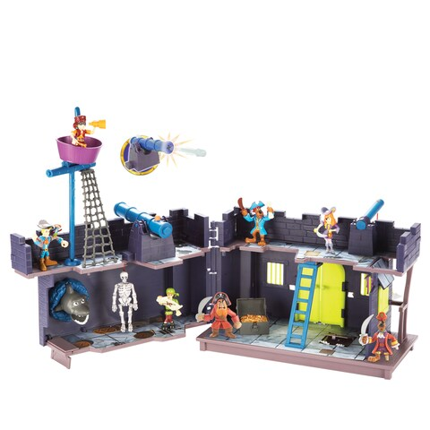 Scooby Pirate Fort and Action Figure, 5 Pack