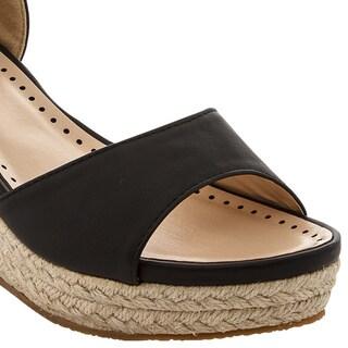 Women's 'Jude-1' Ankle Strap Espadrille Wedge Sandals