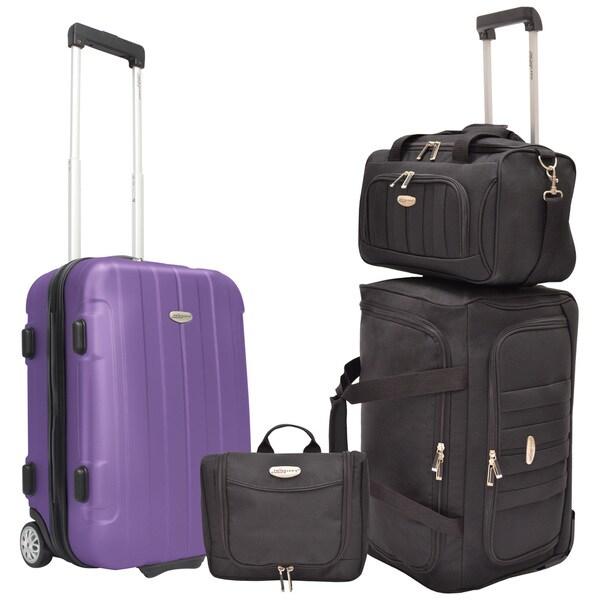 Traveler's Choice Rome 4-Pc. Luggage Set