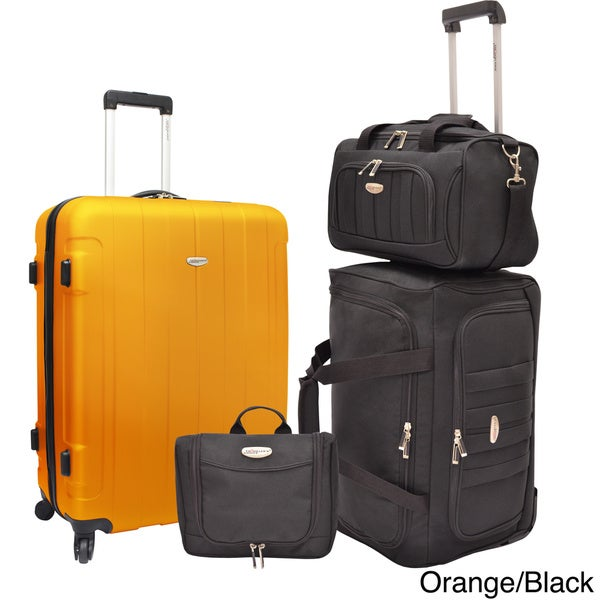 Traveler's Choice 4-Piece Luggage Set