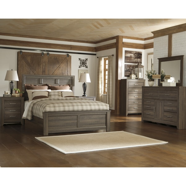 Www Ashleyfurniture Com Bedroom Sets: Shop Signature Design By Ashley Juararo Dark Brown Panel