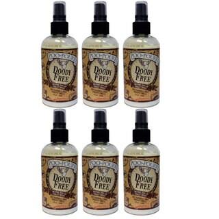 Poo-Pourri Doody Free Preventive Bathroom Odor Spray (Pack of 6)