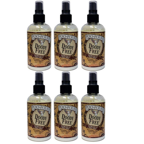 Shop PooPourri Doody Free Preventive Bathroom Odor Spray Pack Of - Bathroom odor spray