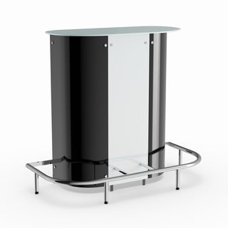 Coaster Company Black/ White Contemporary Bar Table