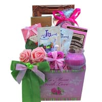 To Mom With Love Tea and Cookie Gift Basket