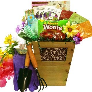 Sweet Gardening Pleasures Gift Basket - sweet-gardening-pleasures