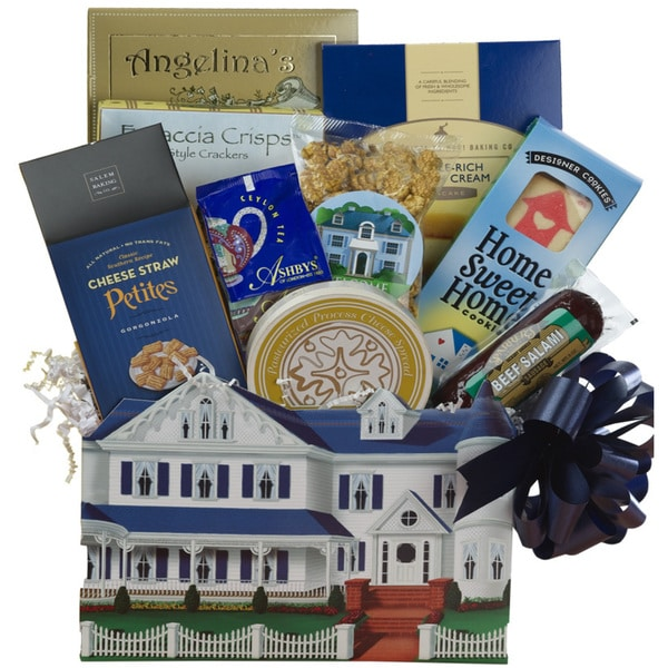 Welcome To Your New Home Housewarming Gift Basket - welcome-home