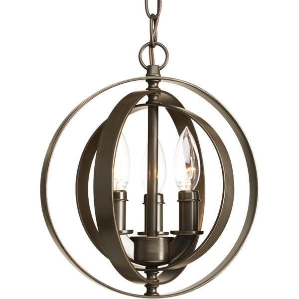 Shop Progress Lighting 3-light Sphere Pendant Lighting