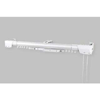 InStyleDesign White Heavy Duty Traverse Rod (Center Open)
