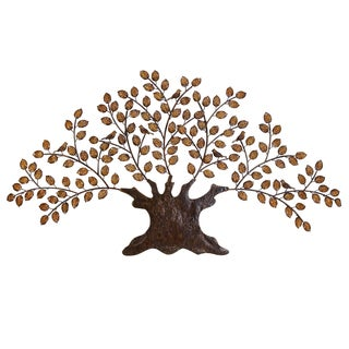 Casa Cortes Handcrafted Metal Tree of Eternity Wall Art Decor