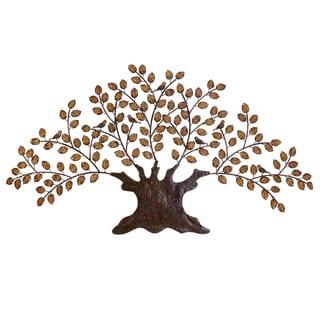 Casa Cortes Handcrafted Metal Tree of Eternity Wall Art Decor