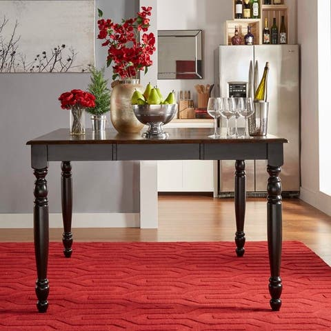 Mackenzie Country Counter Height Extending Dining Table by iNSPIRE Q Classic