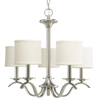 Progress Lighting Inspire Collection 5-light Brushed Nickel Chandelier|https://ak1.ostkcdn.com/images/products/9367098/P16558696.jpg?_ostk_perf_=percv&impolicy=medium