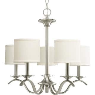 Progress Lighting Inspire Collection 5-light Brushed Nickel Chandelier https://ak1.ostkcdn.com/images/products/9367098/P16558696.jpg?impolicy=medium