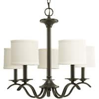 Progress Lighting Inspire Collection 5-Light Antique Bronze Chandelier Lighting Fixture