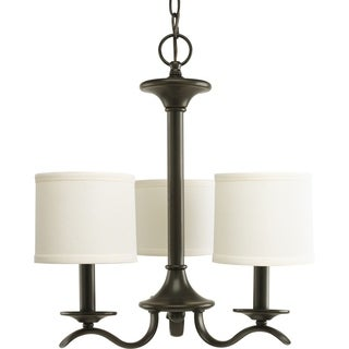 Progress Lighting Inspire Collection 3-Light Antique Bronze Chandelier Lighting Fixture
