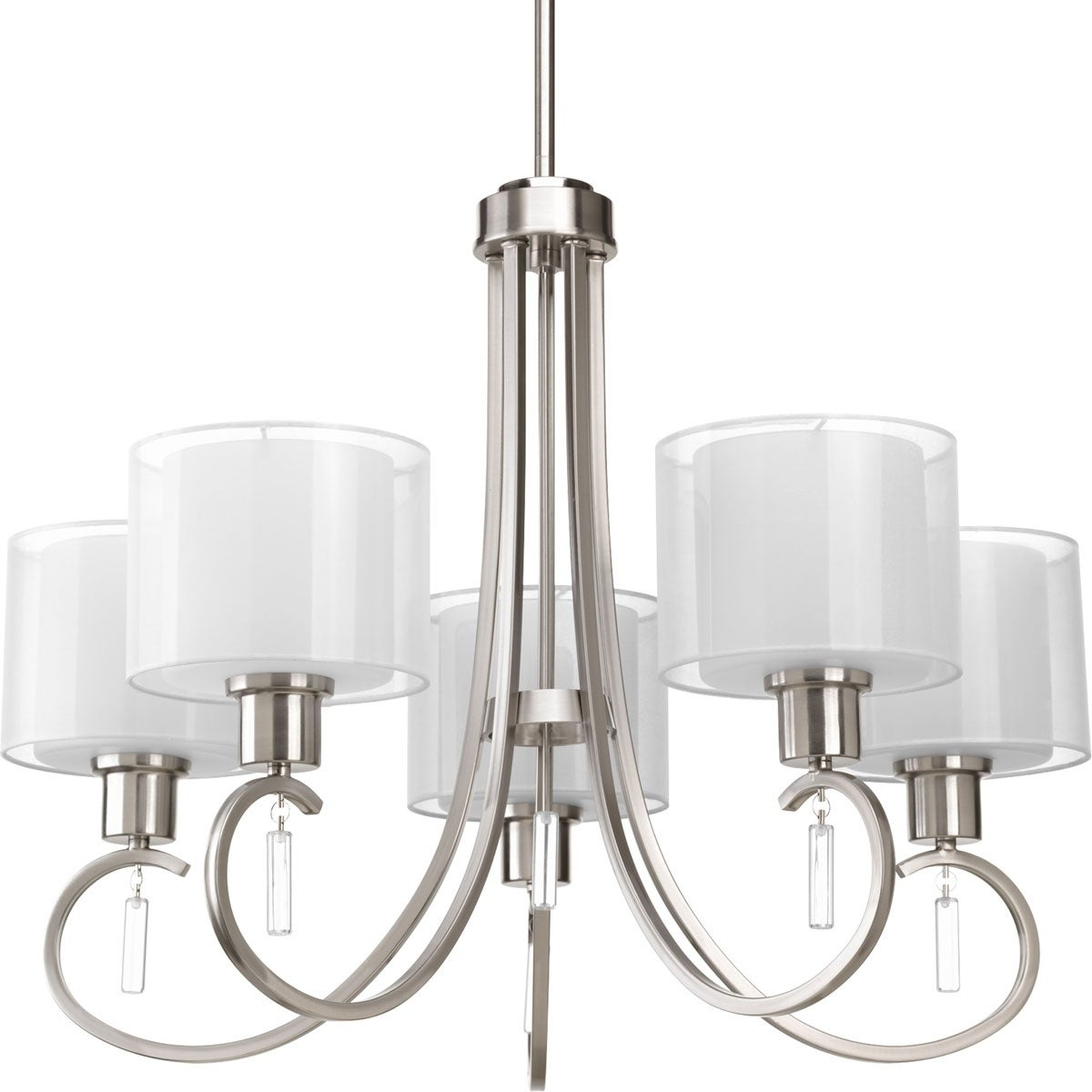 Collection 5 Light Brushed Nickel